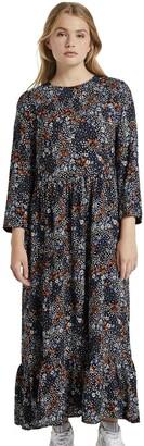 Tom Tailor Women's Blumen Midi Dress