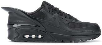 Nike Heel Detail Lace Up Trainers