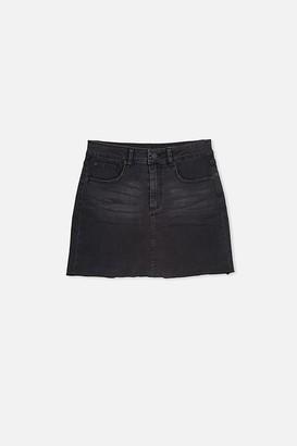Cotton On Stretch Denim Skirt