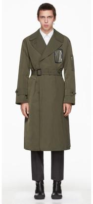 Random Identities Bronze Military Trench Coat