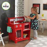 Kid Kraft Classic Kitchenette Wooden Play Kitchen - Red