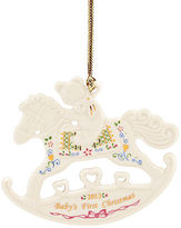 Lenox Christmas Exclusive Ornament, 2013 Baby's First Rocking Horse