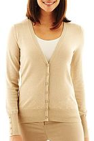 JCPenney Worthington® Essential Cardigan Sweater - Petite