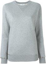 Valentino Rockstud sweatshirt - women - Cotton/Polyamide - S