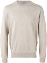 Canali plain sweatshirt - men - Silk/Cotton - 50
