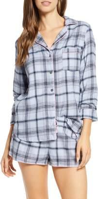UGG Milo Flannel Short Pajamas