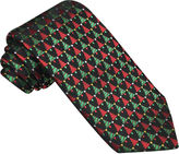 Asstd National Brand Hallmark Woven Small Christmas Tree Tie - Extra Long
