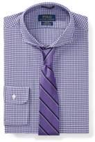 Ralph Lauren Slim Fit Cotton Dress Shirt 1896 Purple/Green Mulit 15