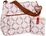 Babymel Diaper Bag, Big Slouchy Retro Links Pink (Discontinued by Manufacturer) by