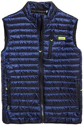 Superdry Men's Outerwear Vests Navy - Navy Core Down Gilet Puffer Vest - Men