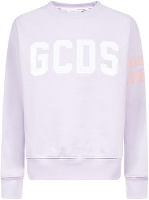 GCDS Logo Crewneck Sweatshirt
