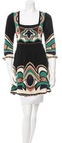 Temperley London Metallic-Accented Silk Tunic