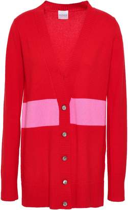 Madeleine Thompson Christopher Striped Wool And Cashmere-blend Cardigan