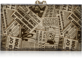 Charlotte Olympia Pandora Printed Perspex Clutch