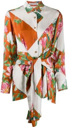 Palmer Harding Parallel floral-print shirt