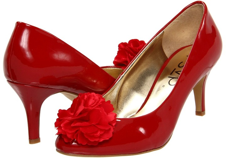 rsvp Raelynn (Red Patent) - Footwear