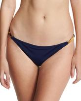 Milly Positano Italian Solid Swim Bottom, Blue