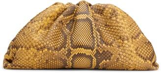 Bottega Veneta The Pouch Genuine Python Clutch