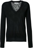Prabal Gurung knit lace back jumper