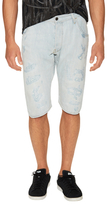 G Star Distressed Tapered Shorts