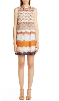 Missoni Knit Sleeveless Minidress