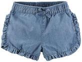 Carter's Ruffle Denim Shorts