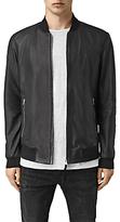 Allsaints Allsaints Mower Leather Bomber Jacket, Black