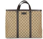 Gucci women's handbag shopping bag purse gg canvas
