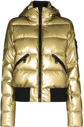 Goldbergh Aura quilted hooded ski jacket