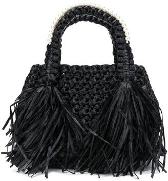 Simone Rocha Braided Embellished Tote Bag