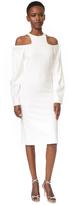 Dion Lee Pierced Pleat Shoulder Dress