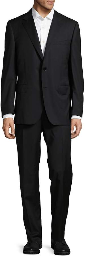 Canali Men's Timeless Classic Fit Wool Suit