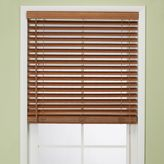 Bed Bath & Beyond Flat Bamboo 27-Inch W x 64-Inch L Window Blind in Pecan
