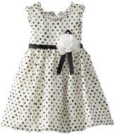 Sweet Heart Rose Girls 2-6X Polka Dot Special Occasion Dress