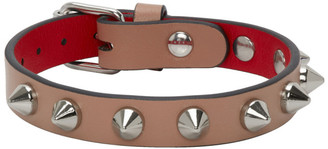 Christian Louboutin Pink Loubilink Bracelet