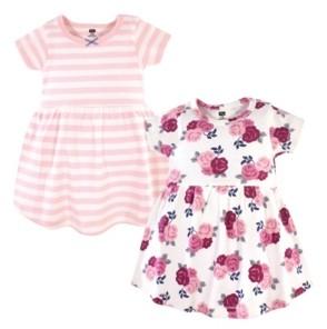 Hudson Baby Toddler Girl Dress 2 Pack