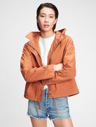 Gap Cropped Anorak Jacket