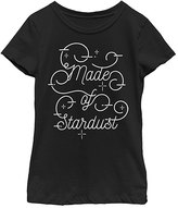 Fifth Sun Black 'Made of Stardust' Crewneck Tee - Girls