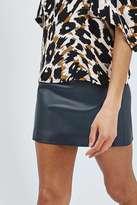 Boutique Leather mini skirt