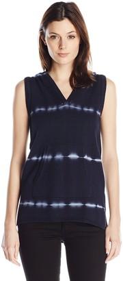 525 America Women's Sleeveless Hoodie Tie Dye Tunic