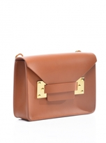 Sophie Hulme Tan Mini Milner Envelope Bag
