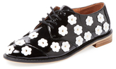 F-Troupe Daisy Patent Leather Oxford