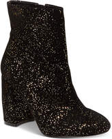 Nanette Lepore Nanette by Lilly Sparkle Block-Heel Booties