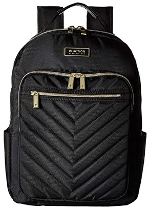 Kenneth Cole Reaction Polyester Twill Chevron Backpack