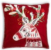 Marks and Spencer Reindeer Applique Cushion