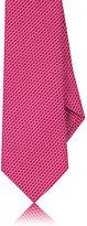 Barneys New York Men's Neat Silk-Cotton Necktie