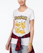 Hybrid Juniors' Pokémon Pikachu Graphic T-Shirt
