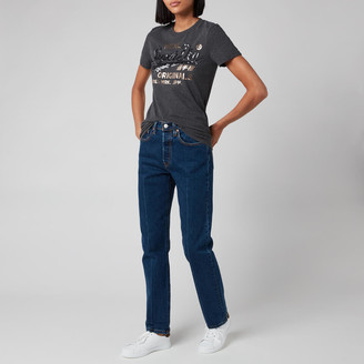 Superdry Women's Script Sequin T-Shirt