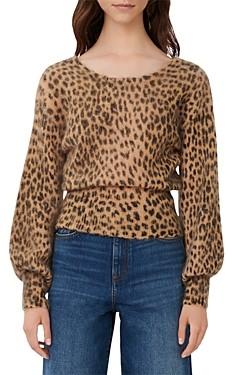 Maje Manimal Animal Print Sweater