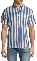 Gant India Madras Striped Button Down Sportshirt